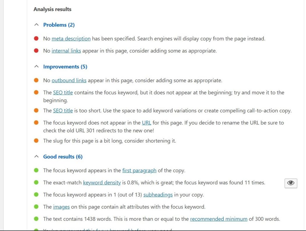 اضافةYoast SEO تحسين محركات البحث
