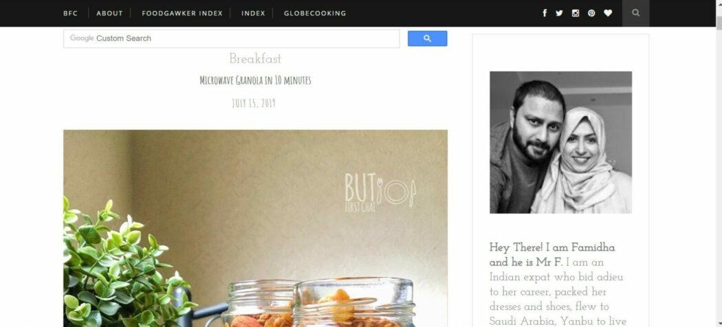 But first chai blog