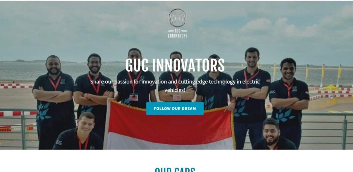 GUC innovators website