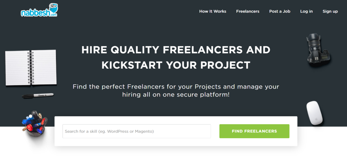 Nabbesh hire a freelancer