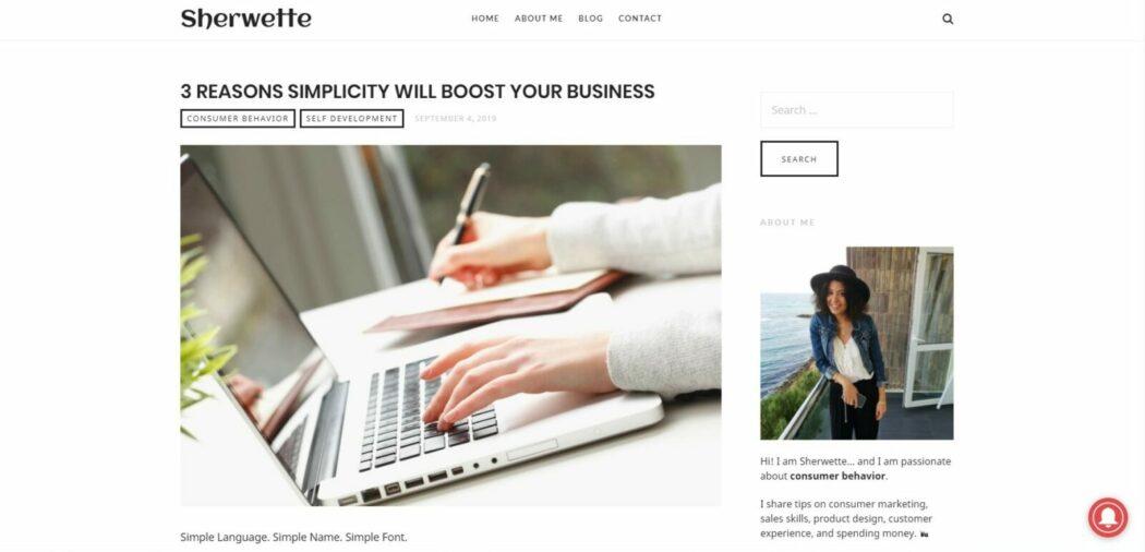 Sherwette consumer behaviour blog