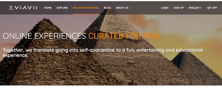Viavii online fun and educational experiences