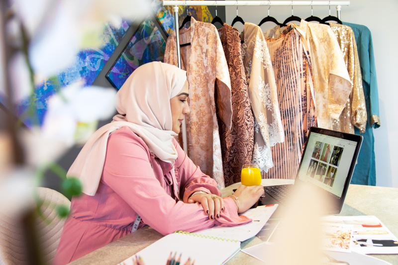 arabic websites suzan el sadi influencer rozan designs