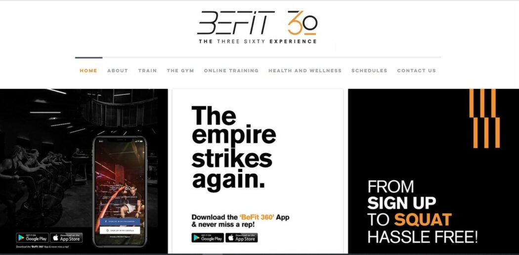 be fit 360 startup fitness