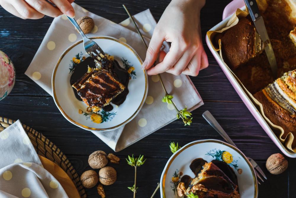 chocolate cake food photography