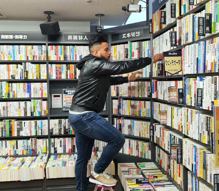 content creator books library