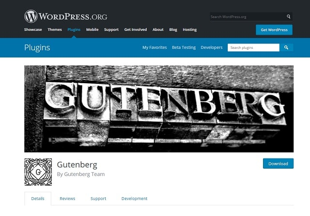 gutenberg-wordpress-editor-plugin