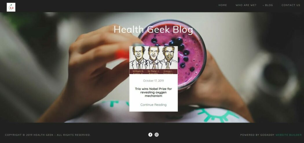 healthgeek blog