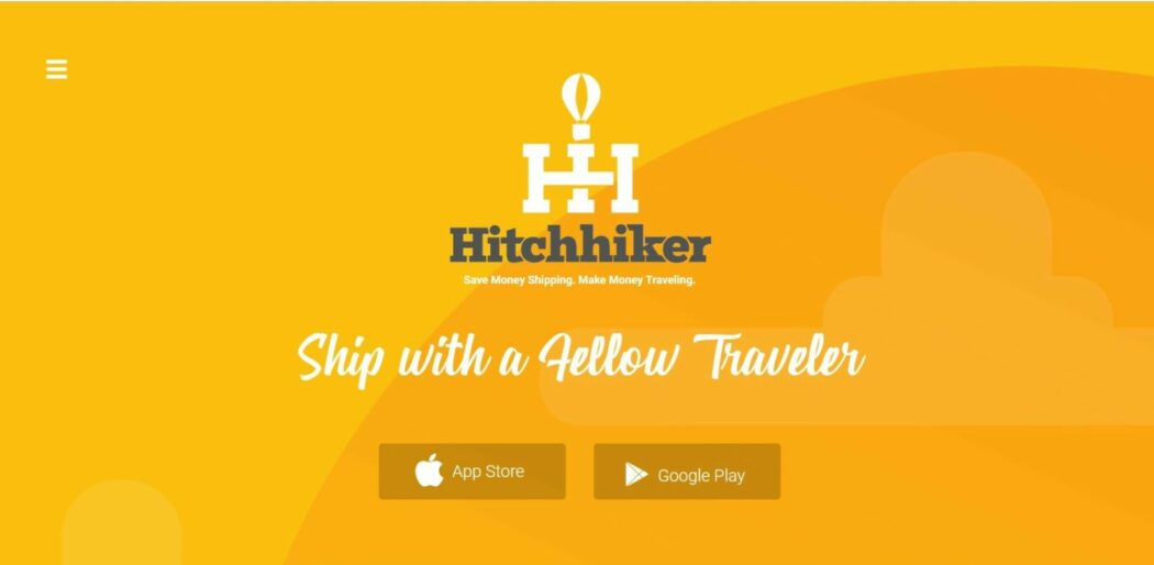 hitchhiker startup shipping courier