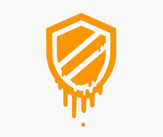 meltdown vulnerability logo