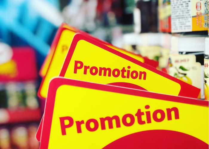 ramadan offers promotion sign