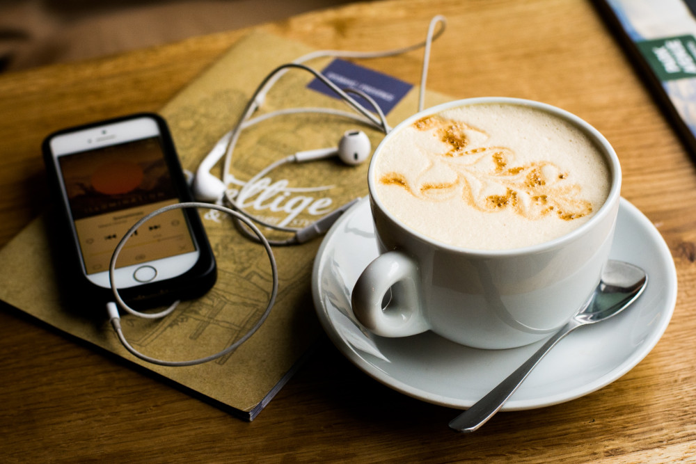 what is a podcast iphone coffee