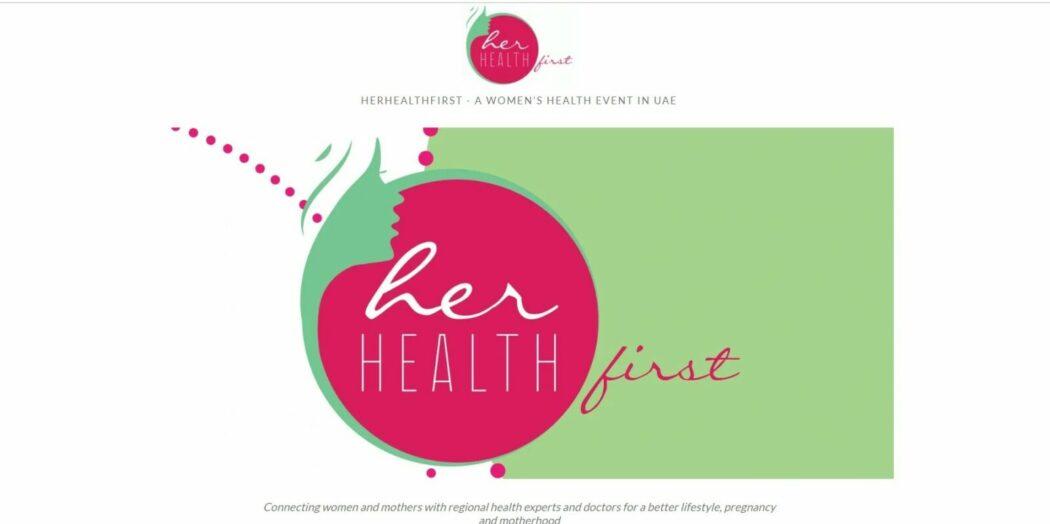 women's health website homepage