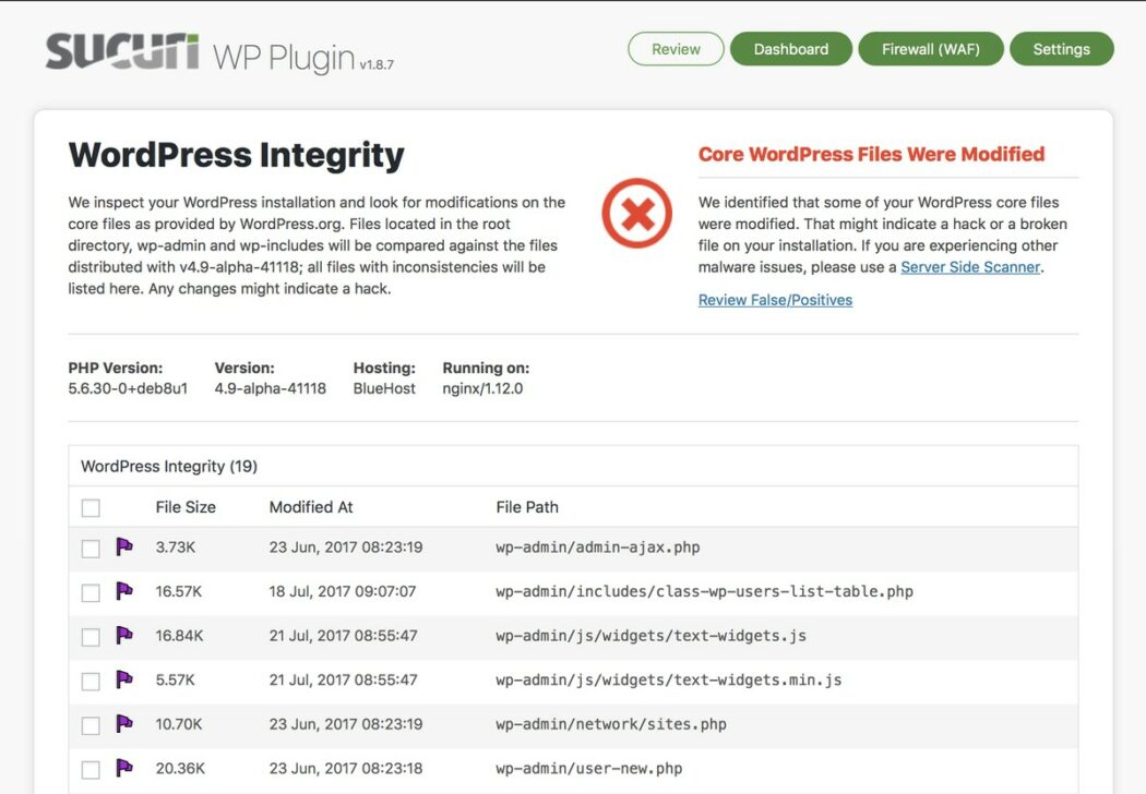wordpress security sucuri