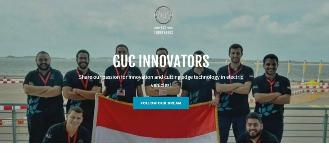 GUC Innovators homepage