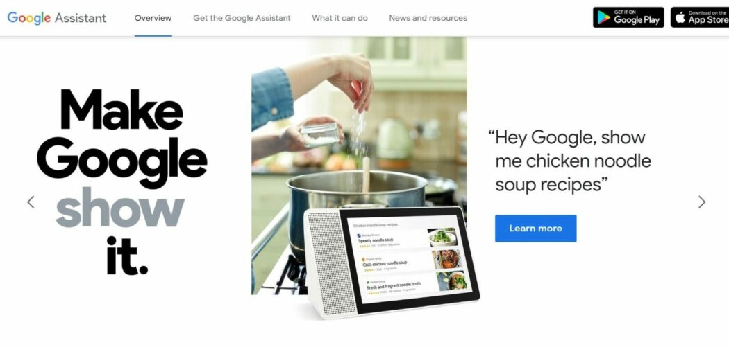 free google products Google Assistant