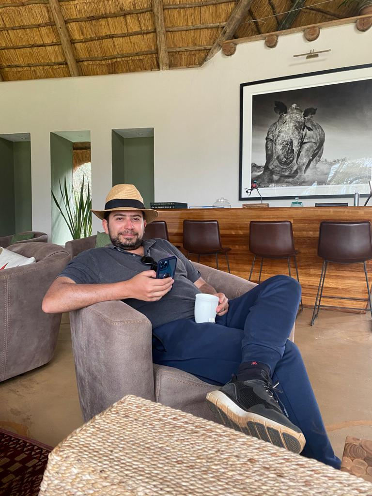Karim Auf Egypt batter half and co founder