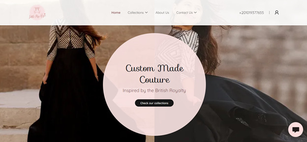 Little Miss Rosie Couture Website