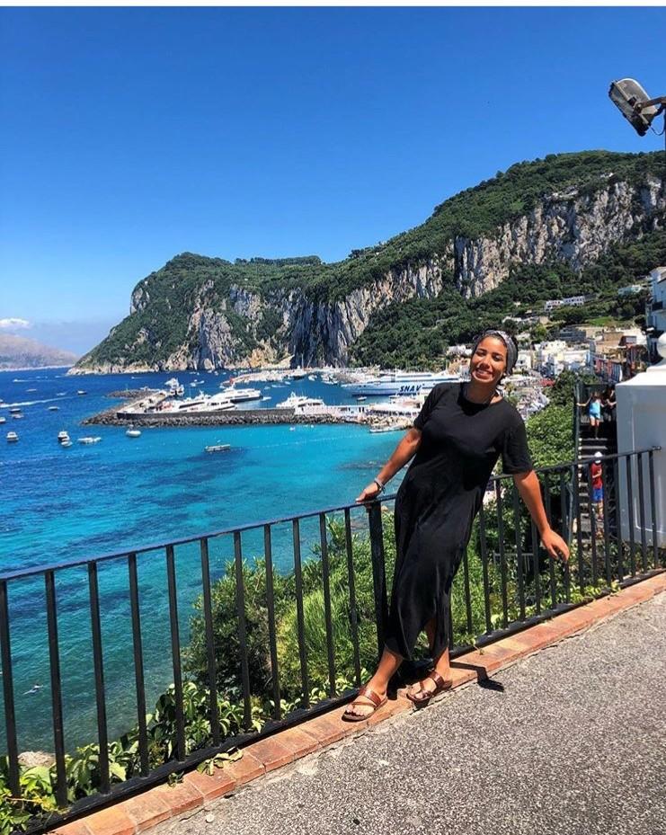 Mayar female entrepreneur Capri Italy