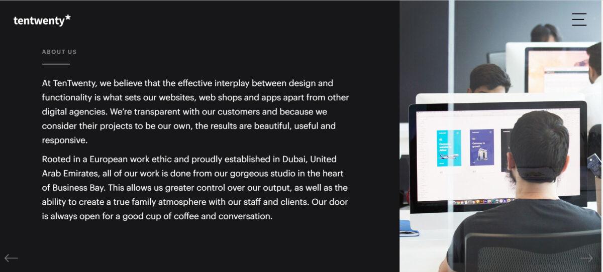 agency dubai website