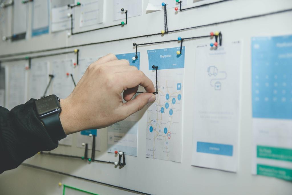hand planning business website