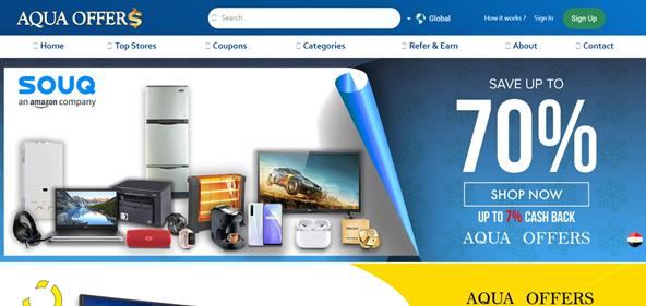 aqua offers website cashback discount
