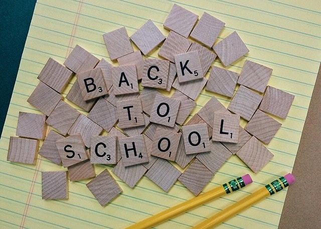 back to school guides scrabble letter tiles