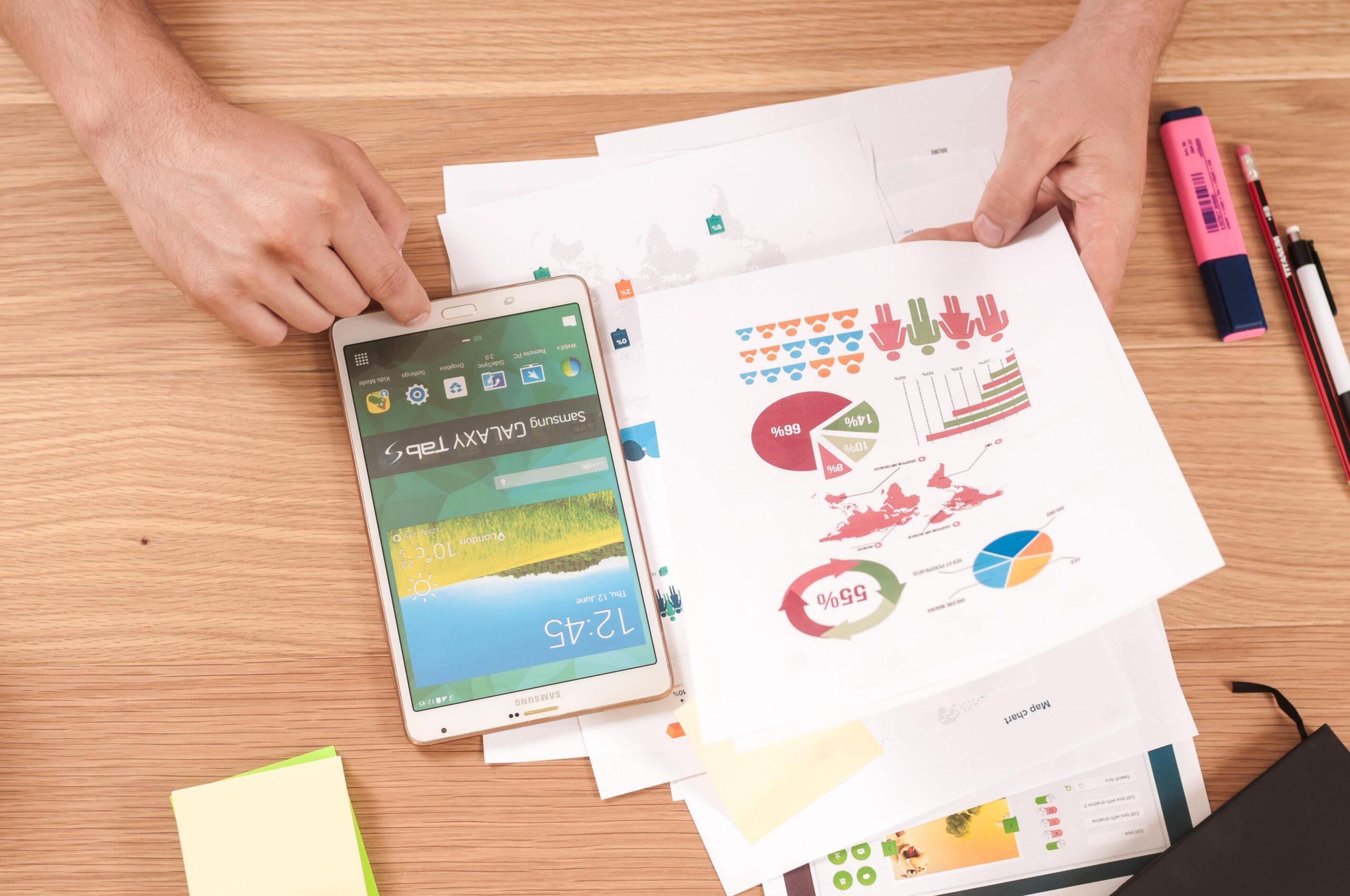 charts statistics online reviews