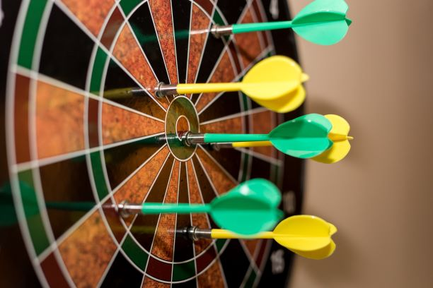 customer persona dartboard