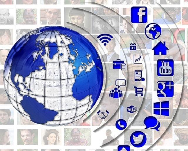 وسائل التواصل الاجتماعي تساعدم في ايجاد عملاء من خول العالم