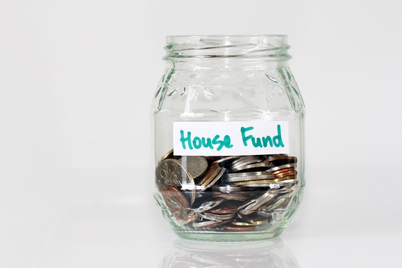 glass jar coins funding
