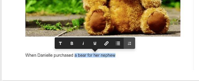godaddy website builder blog feature editor