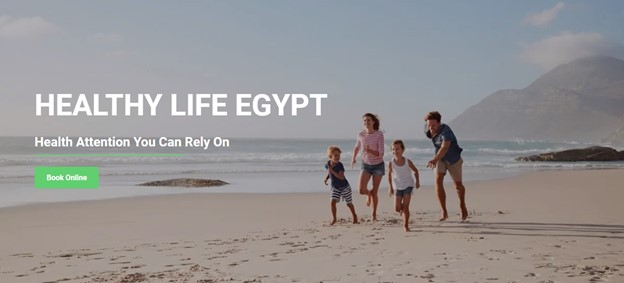 healthy life egypt website