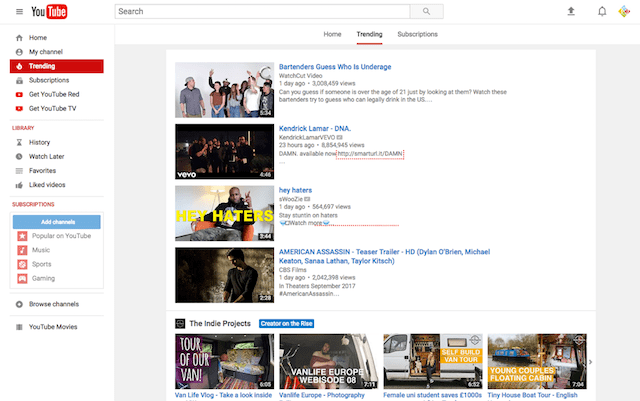 How To Use YouTube Navigation
