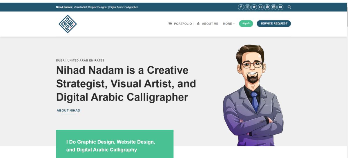 .me domain website