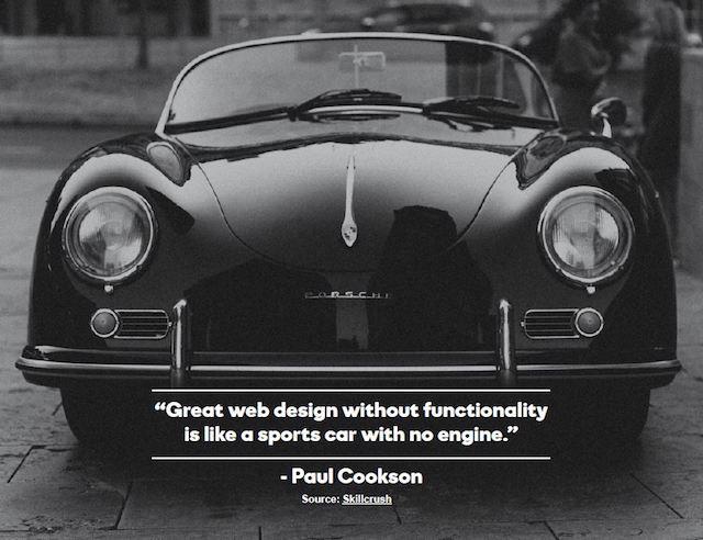 start a website car