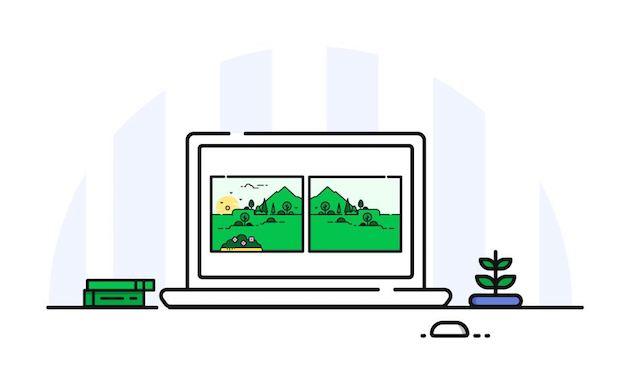 start a website scenery
