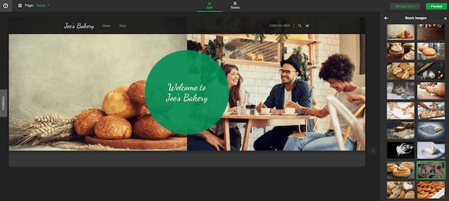 start a website website builder design