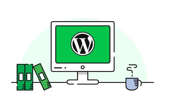 start a website wordpress computer
